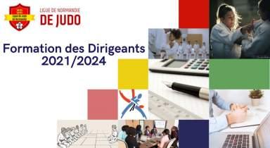 Formation des dirigeants 2021/2024 - Calendrier et Inscriptions
