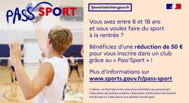 Modalités et mise en place du Pass'Sport