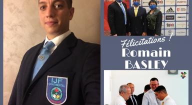 Romain Basley arbitre continental !