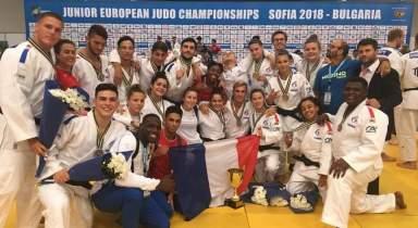 Paul DEVOS médaillé avec l'Equipe de France Junior