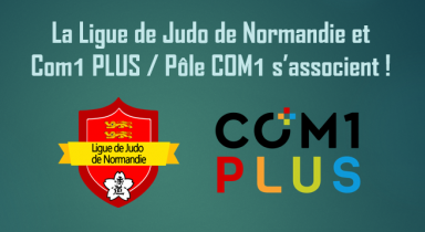 Com1 PLUS nouveau partenaire du judo normand