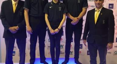 3 jeunes arbitres à la Coupe de France Minimes
