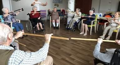 Du Taiso en maison de retraite