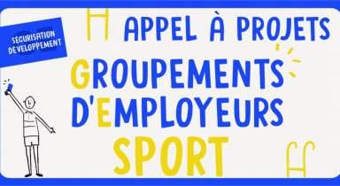 Appel à projets Fonds de sécurisation Groupements d'Employeurs sport 2019