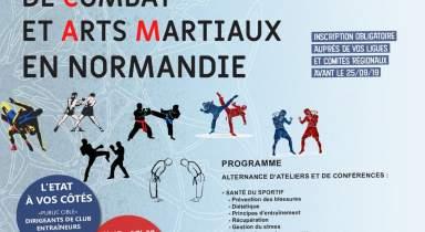 Journée régionale Sports de Combat et Arts Martiaux 12 octobre