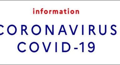Information importante - Pandémie COVID-19