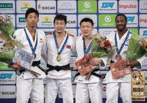 Romaric BOUDA médaillé en Grand Prix