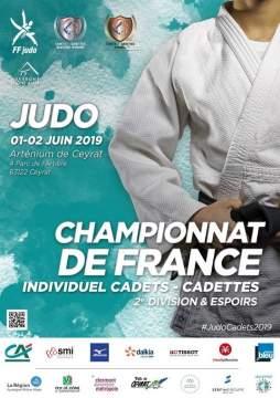Sélectionnés Championnat de France Cadets 2D et Espoirs