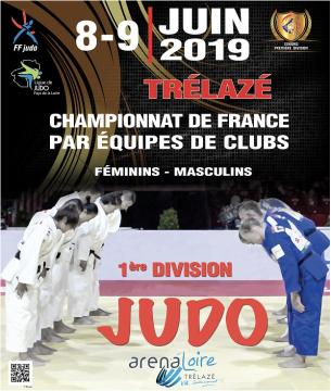 Le judo normand bien représenté à Trélazé pour le Championnat de France par équipes Seniors 1ère division